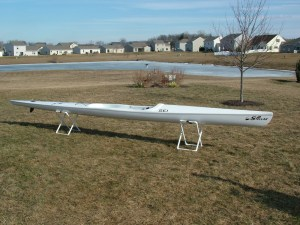 High performance but relatively stable SEI surfski.  Light at 26 lbs in the Excel Layup.