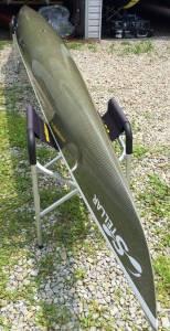 Multi Sport carbon/Kevlar weave hull.