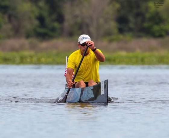 canoe, racing, marathon, Fish Lake, USCA, man, C1