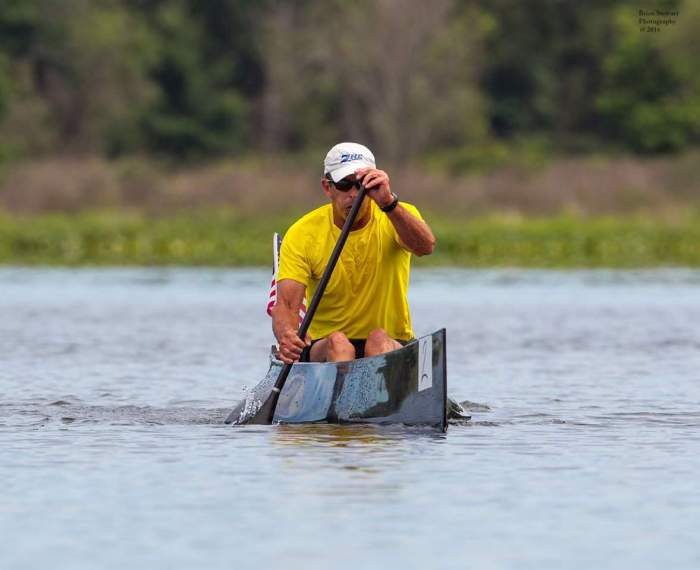 canoe, racing, marathon, Fish Lake, USCA, man, C1