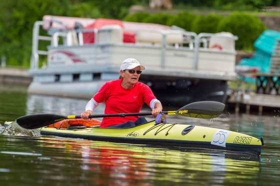 Nelo, Razor, K-1, women, racing, marathon, USCA, Fish Lake, Indiana