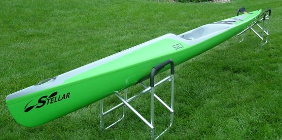 SEI, 2nd generation, Stellar, intermediate, surf ski, surfski, advantage layup, kayak, racing, paddling,