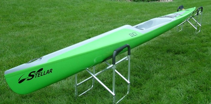 SEI, 2nd generation, Stellar, intermediate, surf ski, surfski, advantage layup, kayak, racing, paddling,