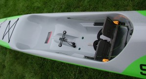 surf ski, cockpit, surfski, SEI, kayak, paddling, racing