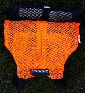 Mocke, paddling, life jacket, lightweight, orange, visible, canoe, canoeing, kayak, kayaking, racing, gear, safety