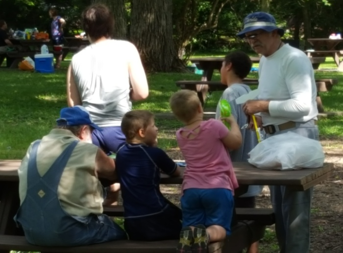 USCA, kids, boys, racing, paddling, canoe, play, picnic, Indiana