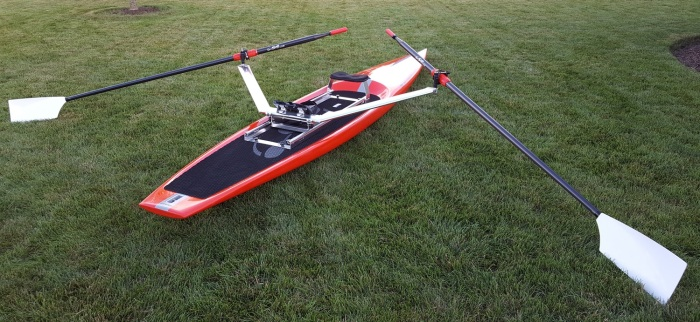 Stellar SUP stand up paddleboard paddle board Wintech oars rowing rig unit training practice