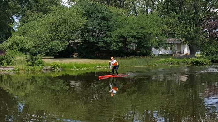 Steve SUP Fish Lake
