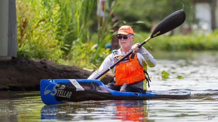 Stellar, SR, Midwest, Indiana, Michigan, Illinois, Ohio, kayak, surf ski, sit on top, kevlar, carbon, racing, Fish Lake