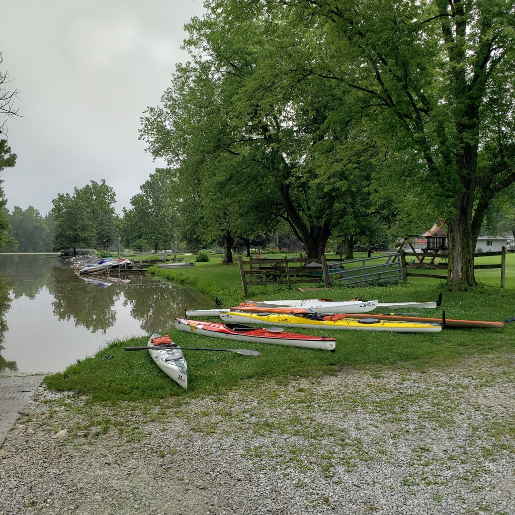 sea kayak, kayak, racing, kayaking, Leo, boat launch, USCA, Indiana, Three Rivers Festival, surf ski